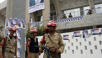 Grosses Sicherheitsaufgebot für die Wahlen im Jemen