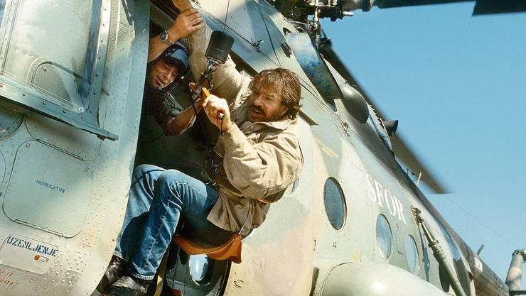 Götz George als Kurt Schimanski in der gleichnamigen Filmreihe. Nach dem «Tatort»-Abgang 1991 setzte die Figur dort ihre Karriere fort.