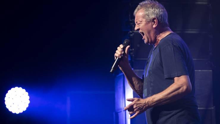Aufhören bevor es peinlich wird: Ian Gillan, Sänger der britischen Rockband Deep Purple, will nicht zwingend auf der Bühne sterben. (Archivbild)