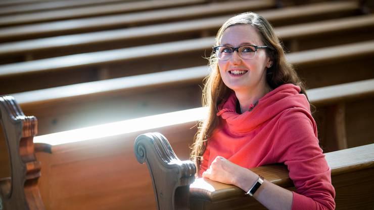 Hat sich schon als Kind für Religion interessiert: Vanessa Furrer.