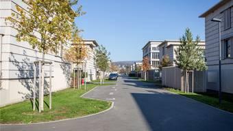 Mellingen hält mit 327 leer stehenden Wohnungen den Kantonalrekord. Allein in der Siedlung Neugrüen (im Bild) sind fast 70 von 165 Mietwohnungen frei. Sandra Ardizzone