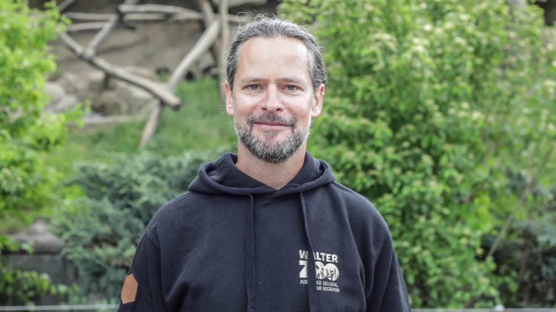 Thomas Harder, Leiter Marketing und Verkauf des Walter Zoos