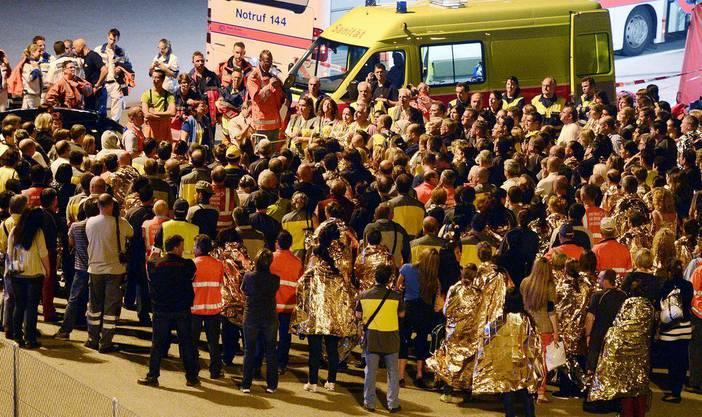 220 Pöstler wurden evakuiert