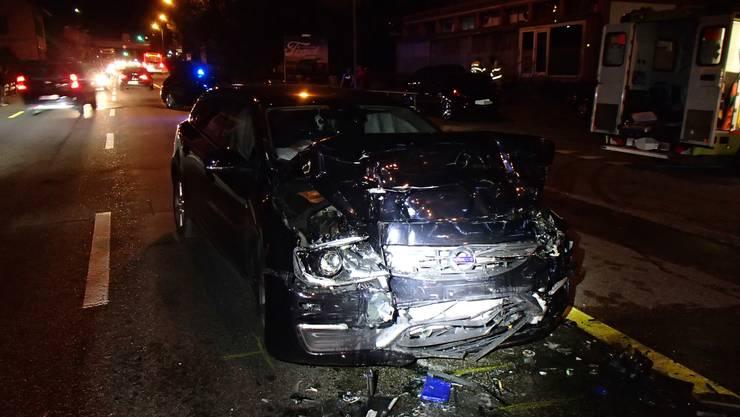Der 27-jährige Schweizer war mit seinem Volvo V60 auf der Oltnerstrasse unterwegs.