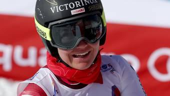 Fabienne Suter wirkt in Vail gut aufgelegt und fährt im Training zusammen mit Lindsey Vonn auf den vierten Platz. Hoffentlich kann sie diese neue Lockerheit auch in die Rennen mitnehmen.