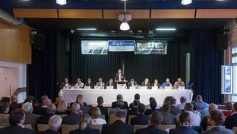 Der Industrie- und Handelsverein Dietikon, die Wirtschaftskammer Schlieren und der Gewerbeverband Limmattal (im Bild dessen 33. Delegiertenversammlung) haben ihre gemeinsamen Parolen zu den Zürcher Abstimmungen am 10. Februar bekanntgegeben.