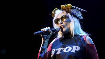 Deborah Harry ist mit ihrer Band Blondie seit 40 Jahren im Showbusiness.