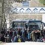 Sie wollen weiter nach Europa: Flüchtlinge in der türkischen Stadt Edirne warten auf die Weiterfahrt.