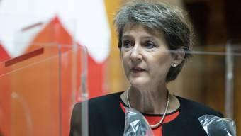 Bundespräsidentin Simonetta Sommaruga äusserte Verständnis für den Wunsch nach mehr Führung in der Krise. (Symbolbild)