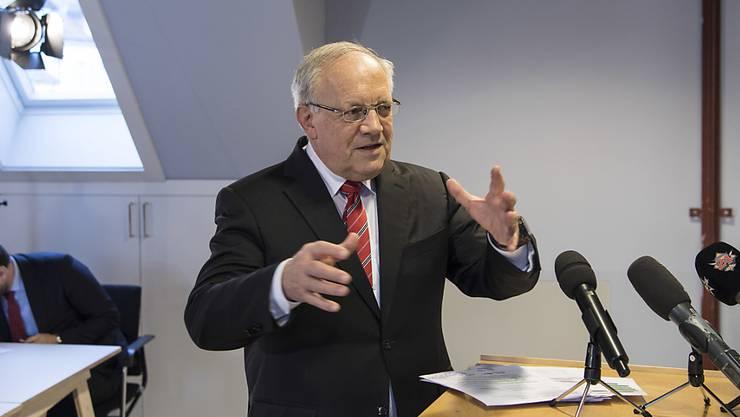 Johann Schneider-Ammann zieht Bilanz über sein Präsidialjahr.