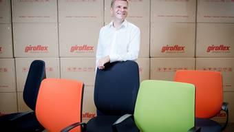 «In zehn Jahren werden wir in Koblenz nicht weniger Mitarbeiter beschäftigen»: René Walpen, seit März 2014 CEO der Stoll Giroflex.