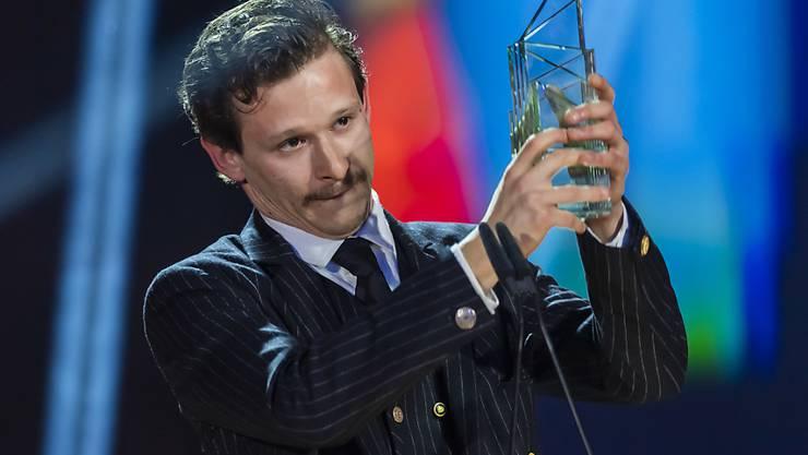 """Schauspieler Joel Basman soll das Zugpferd für die Oscar-Kampagne von """"Wolkenbruch"""" sein. Für die Hauptrolle erhielt er vergangenen März den Schweizer Filmpreis.  (Archivbild)"""