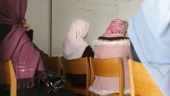 Frauen in einem Islamischen Gemeinschaftszentrum (Archiv)