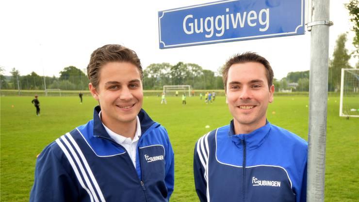 Daniel Wiedmann (l.) und Andreas Linder wollen den Cupsieg.HPS