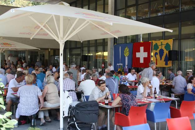 Im Quartierzentrum Föhrewäldli in der Fahrweid war der Besucherandrang gross.