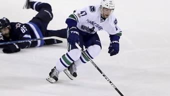 Sven Bärtschi wird wohl nicht mehr für die Vancouver Canucks spielen