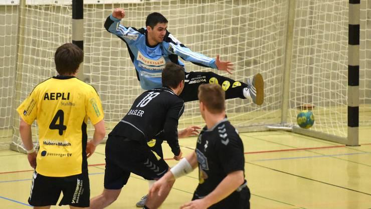 Der RTV 1879 Basel verliert leichtfertig gegen Gossau.