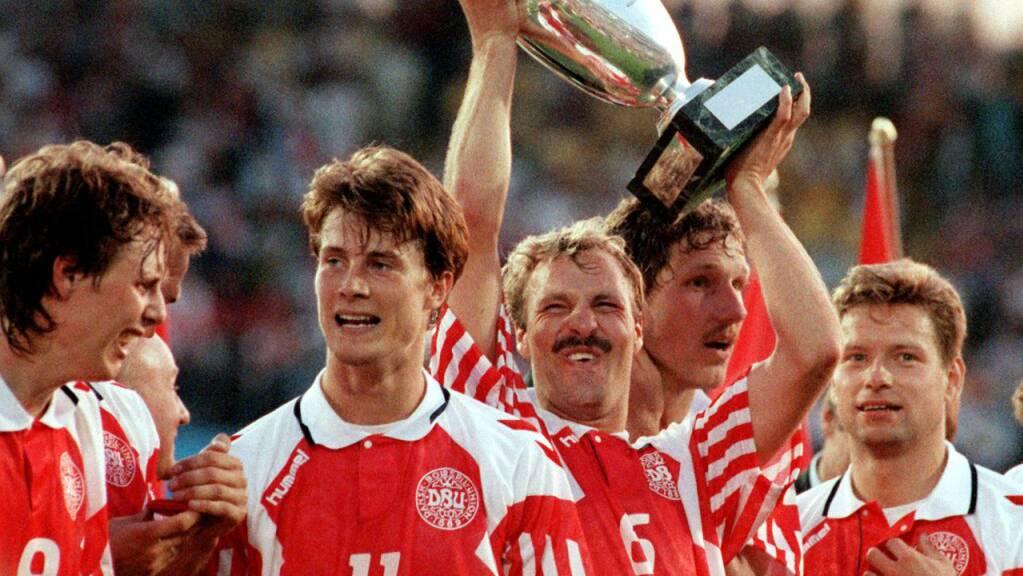 Am Schluss hielten die Dänen den Pokal in die Höhe, obwohl sie ursprünglich die Qualifikation für das Turnier in Schweden verpasst hatten.
