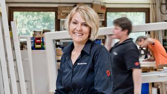 Eine von 15 Pionierinnen: Michelle Hofer von der W. Hofer Schreinerei nimmt am Pilotprojekt der KMU Frauen Schweiz teil. Emanuel Freudiger