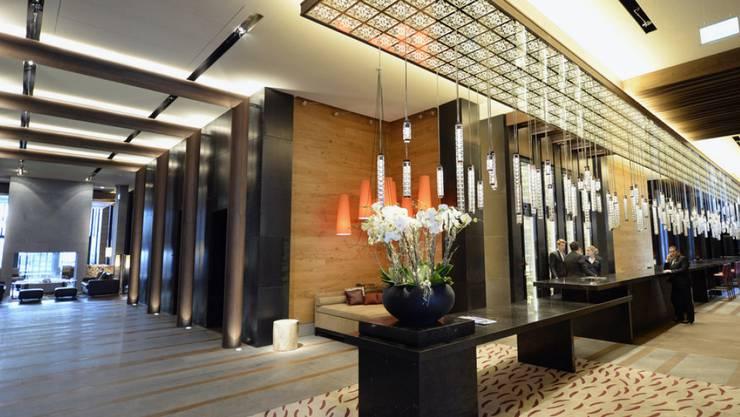 Das Hotel The Chedi erreichte 2015 eine Ganzjahresauslastung von 40,3 Prozent. Der Luxusresort von Sawiris in Andermatt blieb auch 2015 ohne Gewinn. (Archiv)