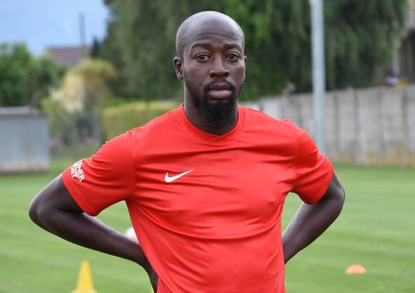 Der Französisch-Malische Doppelbürger Garra Dembélé im ersten Training beim FC Solothurn