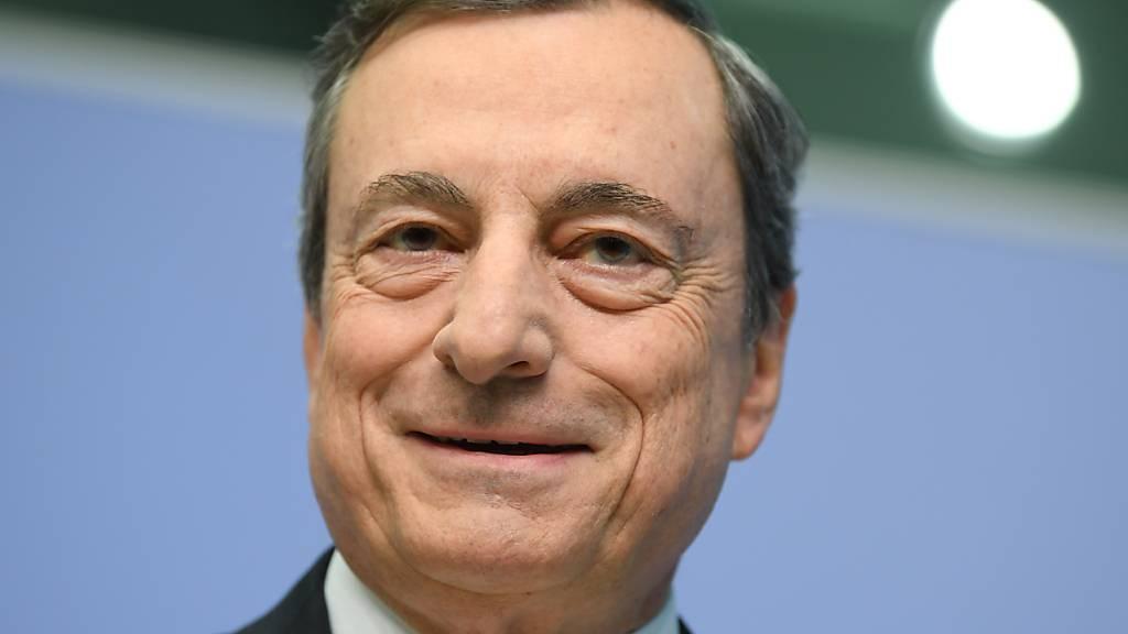 ARCHIV - Mario Draghi, früherer Präsident der Europäischen Zentralbank (EZB). Foto: Arne Dedert/dpa