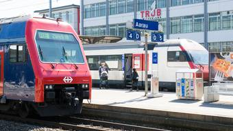 Aarau wird – genauso wie Lenzburg – mit der neuen S 11 besser an den Raum Winterthur angebunden. (Archiv)