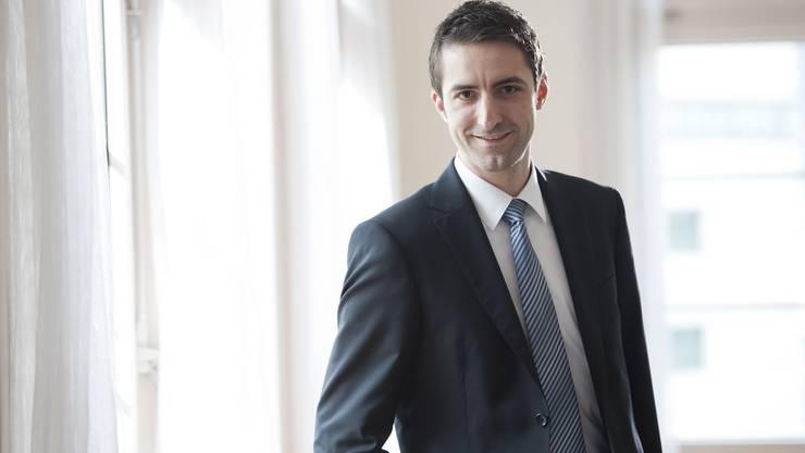 Der neue Gerichtspräsident, Andreas Schöb.
