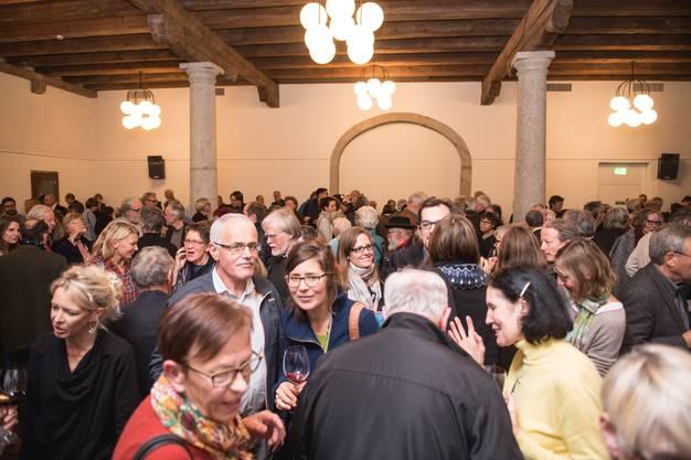 Apero Preisverleihung Kunst- und Anerkennungspreise