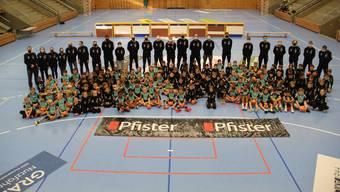 Handballcamp des HSC Suhr Aarau in der Schachenhalle