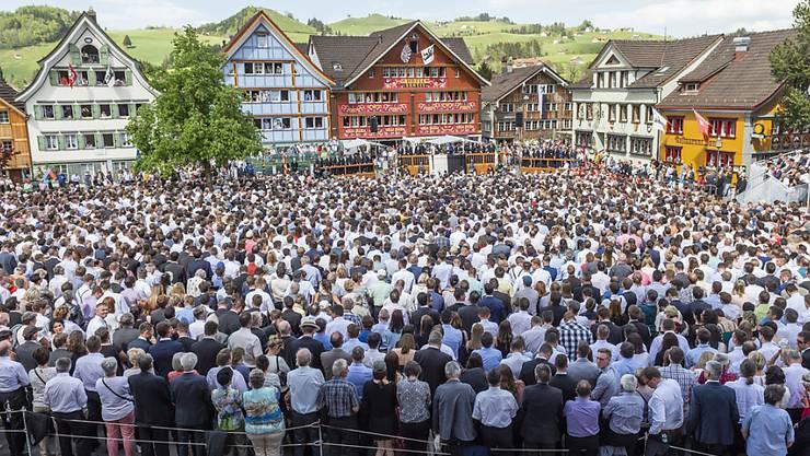 Appenzell Innerrhoder Landsgemeinde vom 29. April 2018 (Archivbild)