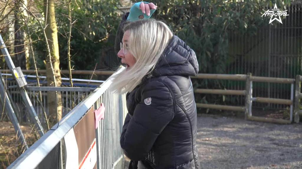 Deborah Zaugg im Zoo