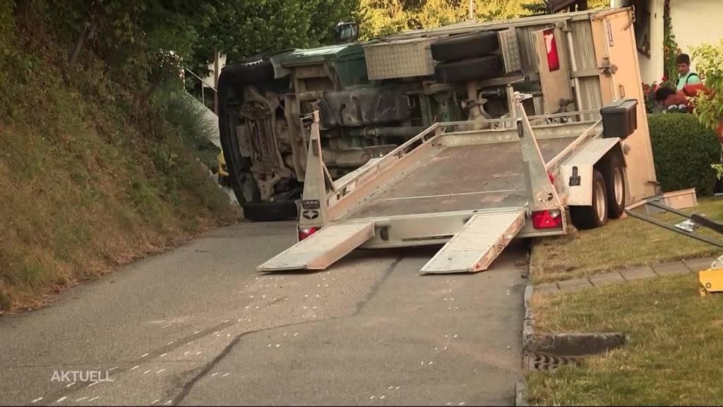 """Tödlicher Unfall in Uerkheim : """"Jede Hilfe kam zu spät"""""""