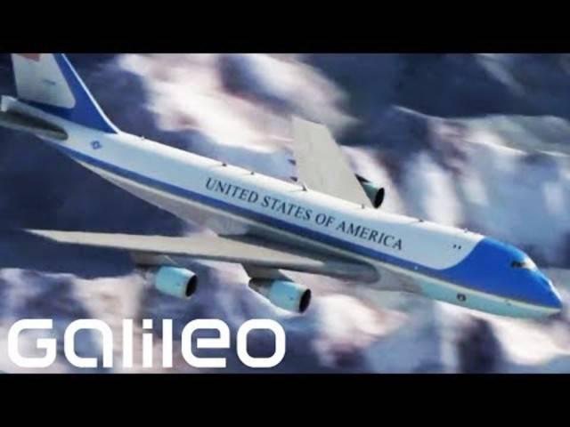 Im Innern der Air Force One: «Galileo» blickt hinter die Kulissen der teuersten und sichersten Maschine der Welt