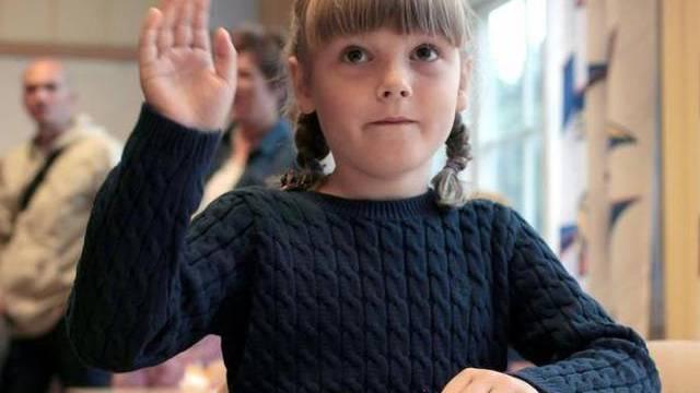 Erster Schultag für Prinzessin Ingrid Alexandra