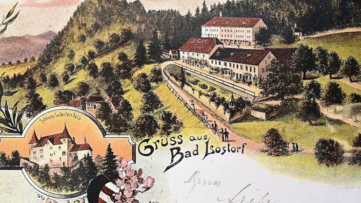 «500 Jahre bad Lostorf 1412 bis 1912» - Ausstellung im Dorfmuseum Lostorf, Hauptstrasse 49 bis zum 27. Oktober.