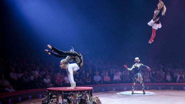 100 Jahre Zirkus Knie: Troupe Sokolov