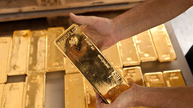 Im Jahr 2018 prüfte die Eidgenössische Zollverwaltung rund 2300 Tonnen importiertes Gold.