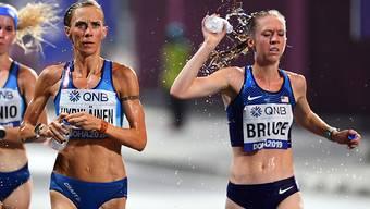 An den jüngsten Leichtathletik-Weltmeisterschaften in Katar litten Marathonläufer und Geher unter den hohen Temperaturen und der Luftfeuchtigkeit, obwohl ihre Wettbewerbe tief in der Nacht stattfanden