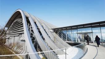 Das Berner Zentrum Paul Klee stammt vom renommierten Architekten Renzo Piano, der auch für die Fondation Beyeler verantwortlich zeichnet. Keystone