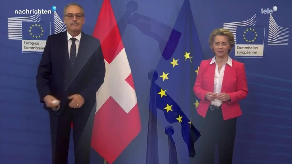 Wie weiter mit dem EU-Rahmenabkommen?