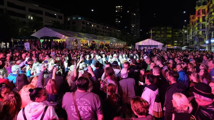 40'000 Besucherinnen und Besucher zählte das Dietiker Stadtfest im letzten Jahr. (Archivbild)