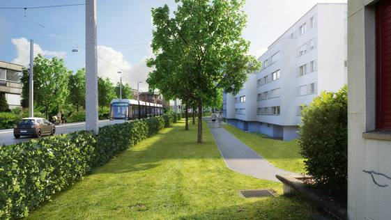 Im Spitalquartier Schlieren mussten diverse Abschnitte erworben werden.
