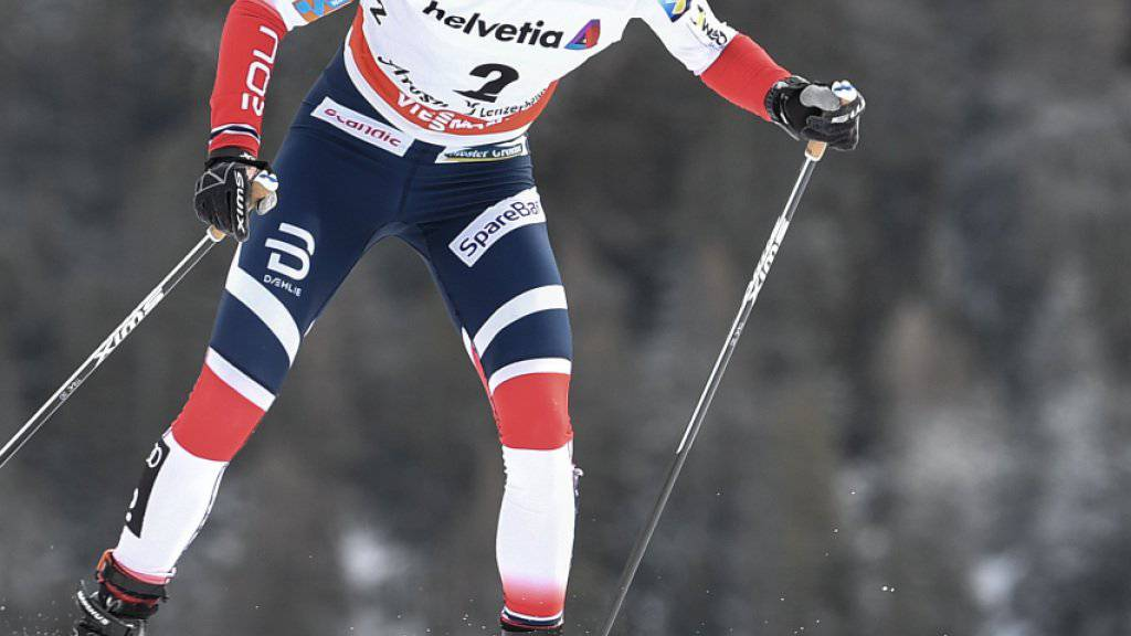 Grosse Siegerin bei der vorletzten Tour-de-Ski-Etappe: Heidi Weng