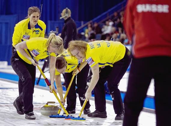 Auch die Schwedinnen spielten stark