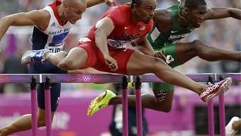 Aries Merritt lässt seine Konkurrenten hinter sich.