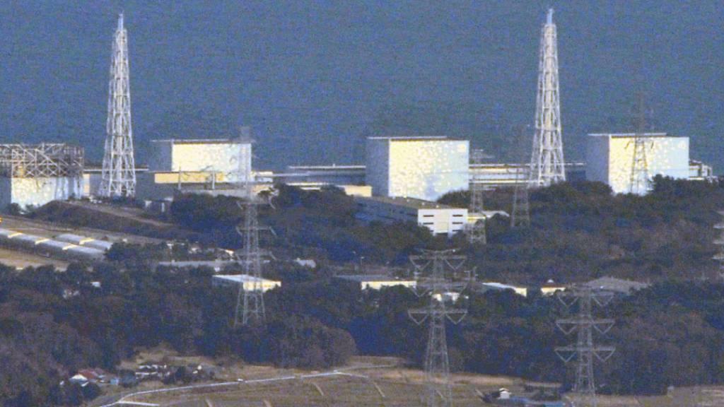 Die Atomanlage von Fukushima nach der Explosion in einem Reaktor (links). (Archivbild)