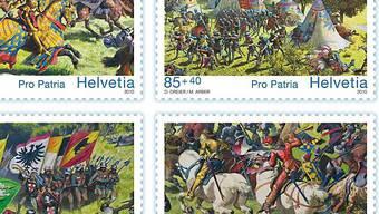 Schlacht als Motiv: Die diesjährigen Pro-Patria-Sondermarken
