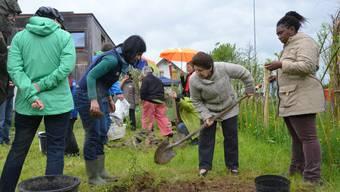 Der Garten lässt Menschen zu Nachbarn werden.