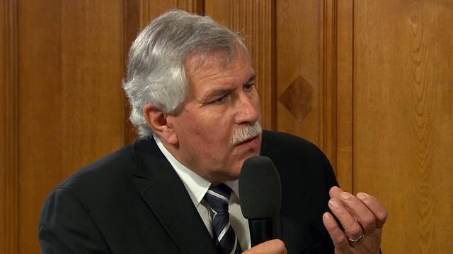 """Wir bleiben kritisch"": SVP-Nationalrat Hansjörg Walter."